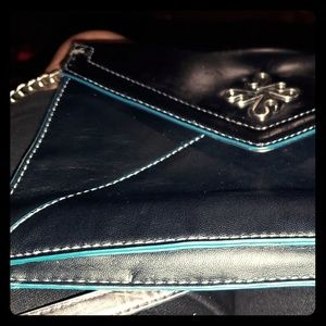 Black Cross-body Simply Vera Wang purse